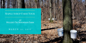 Maple Syrup Farm Tour @ Miller's Tri Mountain Farm